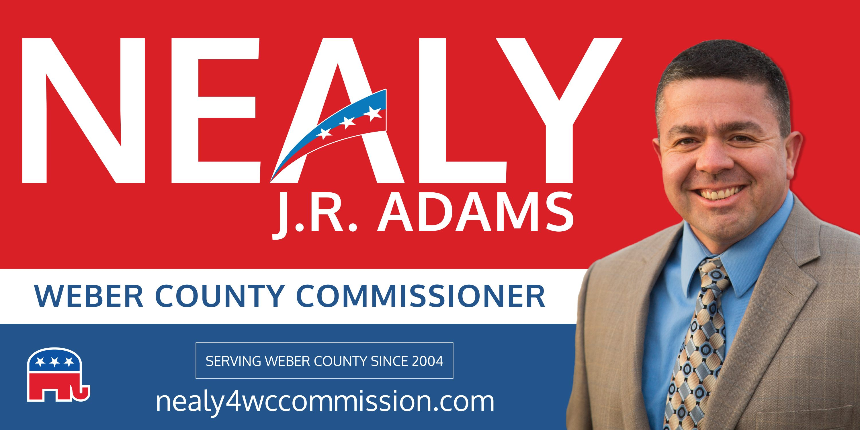 Nealy J.R. Adams for Weber County Commissioner
